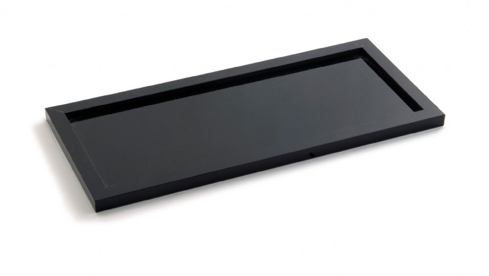 Large Black Presentation/Amenity Tray With Insert